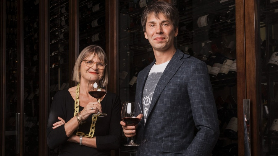Jancis Robinson OBE, arguably the world's greatest wine writer, with Professor Brian Cox who are both touring Australia ...