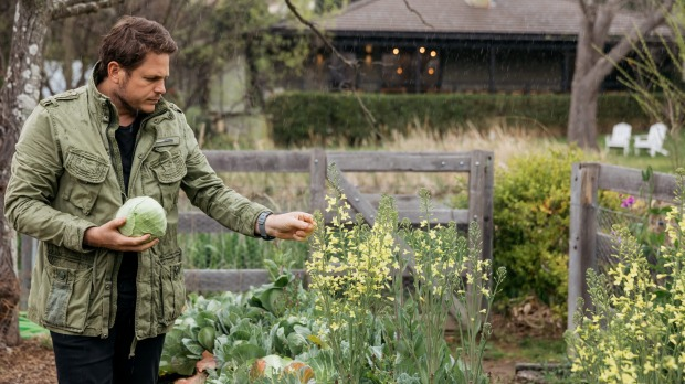 Bowral chef James Viles has long championed self-grown and gathered produce.