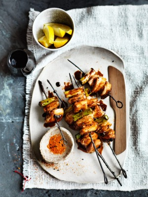 'The only way to cook great yakitori is on good charcoal,' says Leigh Hudson of Chef's Armoury.