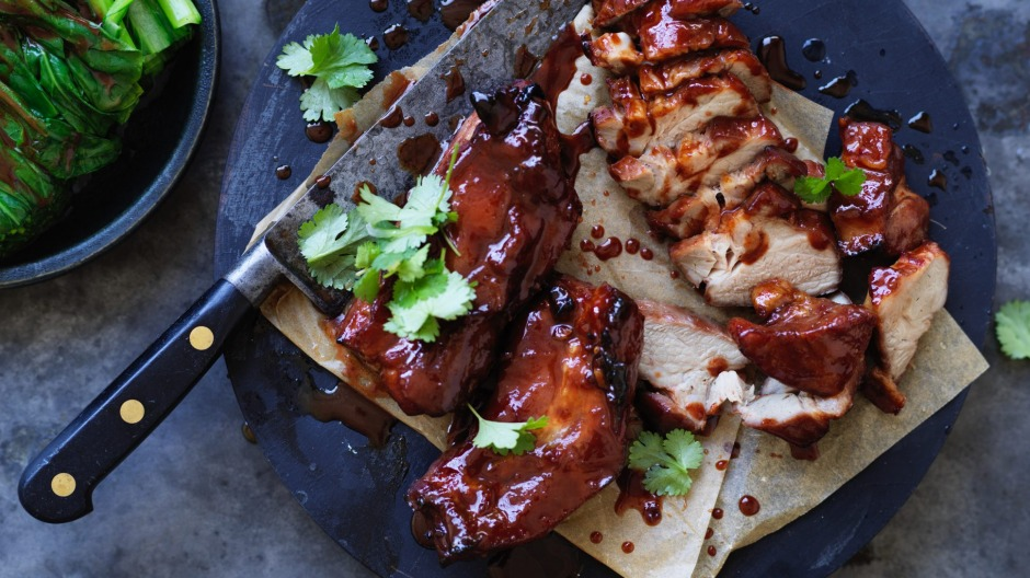 Neil Perry's sticky barbecued pork.