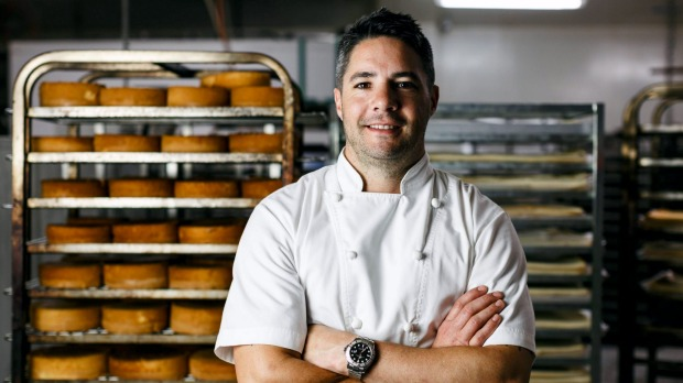 Executive chef Simon Moss at Brunetti Flinders Lane.