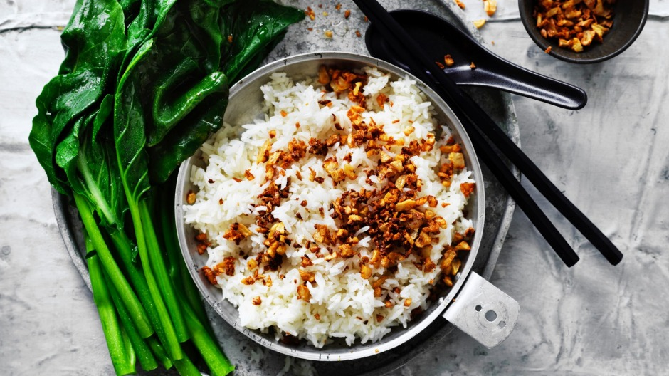 Eating rice-based meals may increase feelings of fullness and prevent overeating.