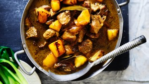 Pork and pineapple adobo.