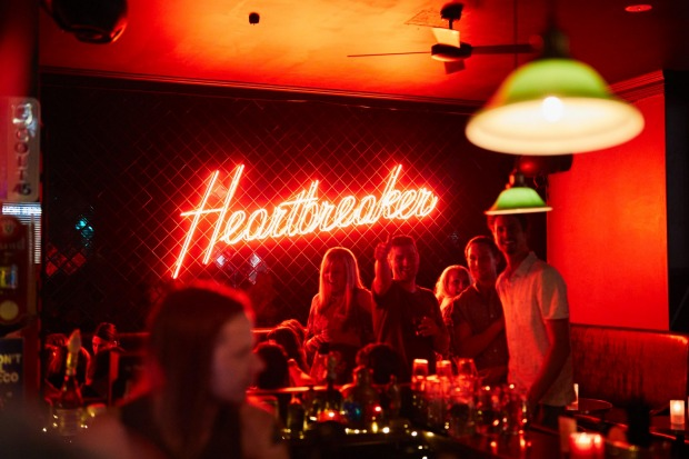 The Everleigh crew's CBD dive bar Heartbreaker.