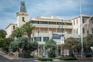 The Continental Hotel in Sorrento is being painstakingly restored as part of an $85 million redevelopment.