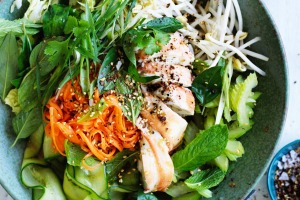 Kylie Kwong's Chinese-style coleslaw.