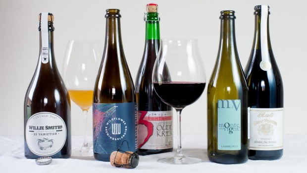 Willie Smith's 23 Varieties Cider, Wildflower Amber Blend, Drie Fonteinen Oude Kriek, Monte delle Vigne Lambrusco NV and ...
