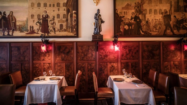 Grossi Florentino is a grand place for a quiet meal.