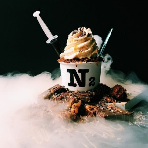 N2's 'brownie overlord' is made to order in-store.