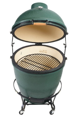 The Big Green Egg comes with a big price tag.