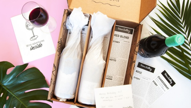 The Wine Gallery subscription.