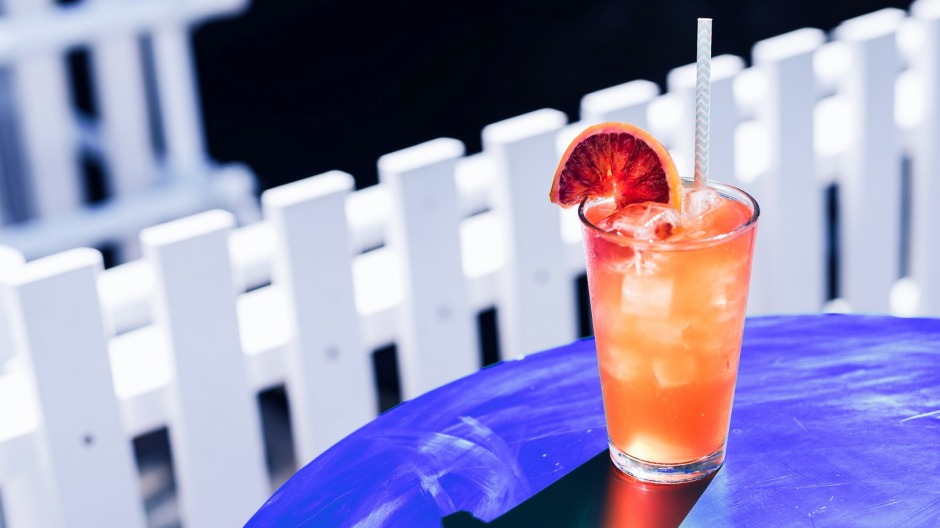 Warm glow: It's the summer of spritz at Arbory Afloat.