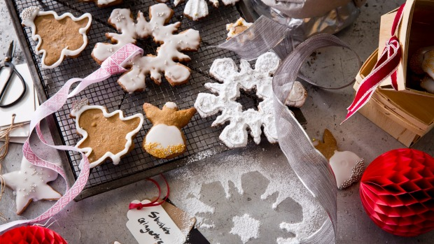 Gingerbread, made with dried bread, honey and spices, has its roots in medieval cookery.