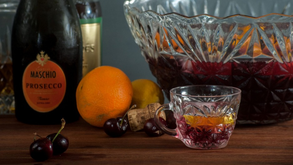 Dust off the punch bowl to mask cheaper booze with big, crowd pleasing flavours.