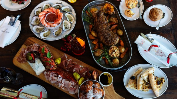 The Fratelli Fresh spread has us drooling. Buon Natale!
