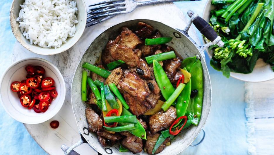 A healthy, flavoursome and summery stir fry.