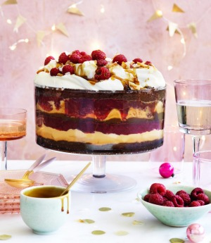 Custard, cake, fruit, booze – what's not to like?