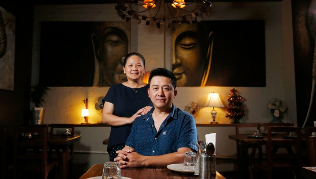 Bee and Red, of Khao San Road restaurant, have toned down their Thai flavours to suit Australian tastes.