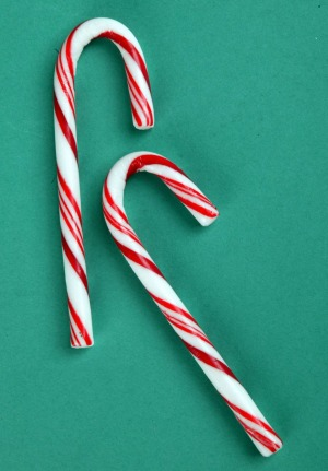 Keep a stash of mini candy canes for when sugar cravings hit.
