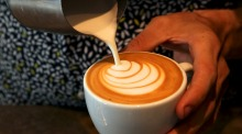 Baristas have long created vertical layers in lattes - chances are horizontal layers will soon join their repertoire, too.