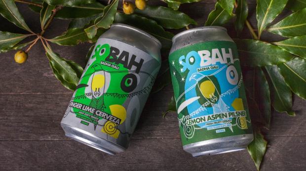 AFR. Life and Leisure. December 2017. Sobah Beer.for story about non-alcoholic drinks by Max Allen. .