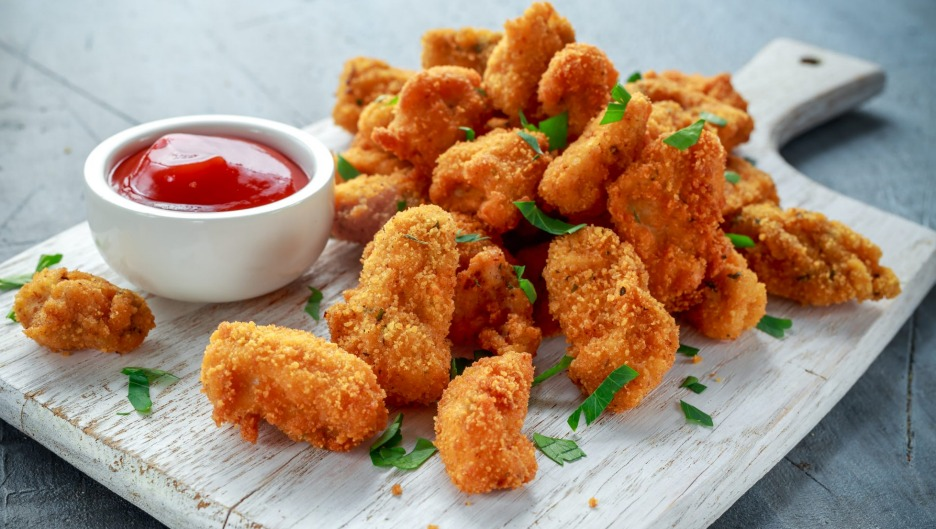 Chicken nuggets can be a high processed culprit - unless you make them yourself.