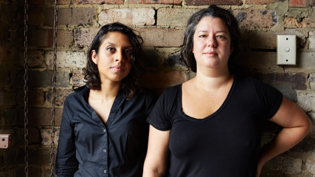 Lankan Filling Station co-owners Odette Overlunde (left) and O Tama Carey.