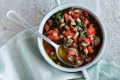 The Blue Ducks' blackened capsicum salsa recipe.