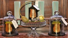 Snif stocks Cire Trudon home fragrance and candles and with a hint of cognac.