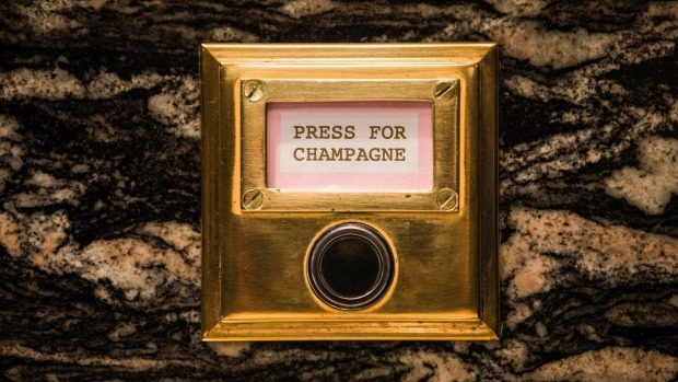 The tableside Champagne call-buttons have proved a hit at Bob Bob Ricard.