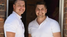 Ben and Danny open Ungermann Brothers Ice Cream Parlour in Brisbane.