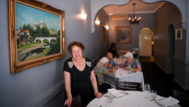 Abla Amad has ruled the kitchen, and dining room, at Abla's for four decades.