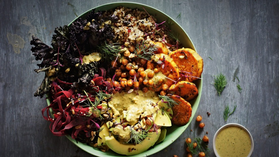 Nourish bowls are an easy way to introduce more plant-based ingredients into your diet.