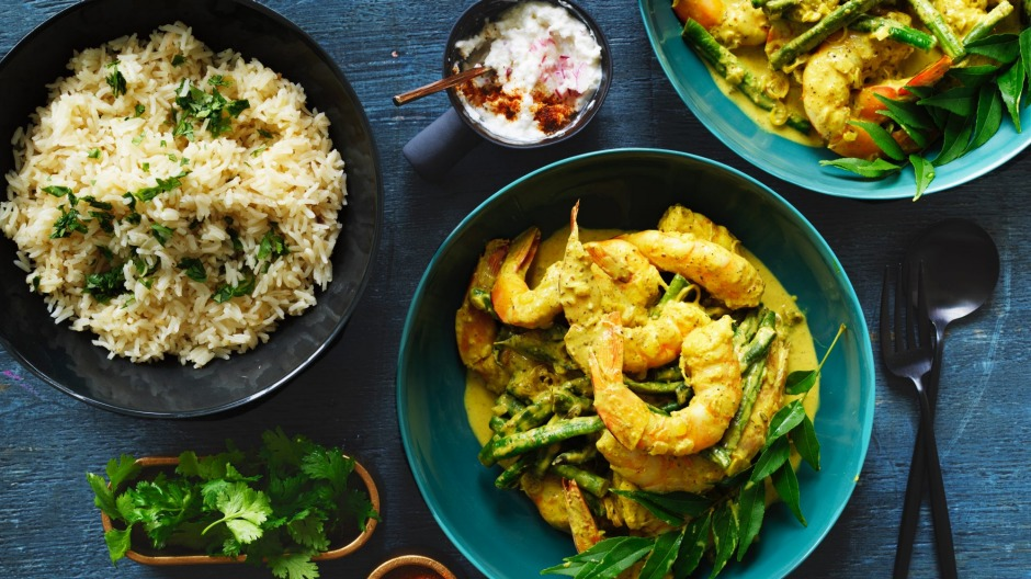 8bbc1bc3adb Any seafood rocks in the curry but the flavours also work well with chicken.