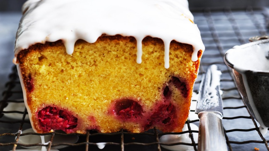 Helen Goh S Lemon And Raspberry Loaf Cake Recipe Recipe Good Food