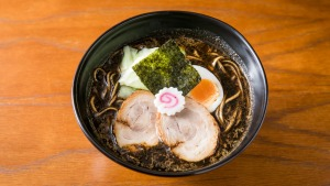 The go-to dish of kogashi miso ramen.