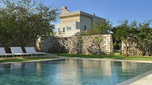 Traditional masseria such as Masseria Trapana have been converted into boutique hotels.  They were once farmhouses and ...