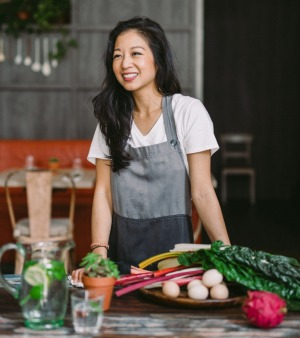 Chef Peggy Chan opened the all-vegetarian Hong Kong's Grassroots Pantry.