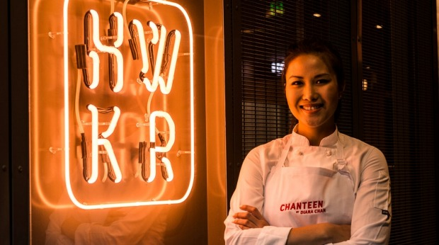 MasterChef 2017 winner Diana Chan is trialling her Chanteen concept at HWKR.