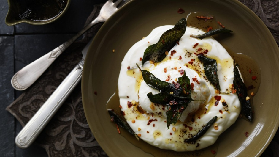 Neil Perry's Turkish-style poached eggs.