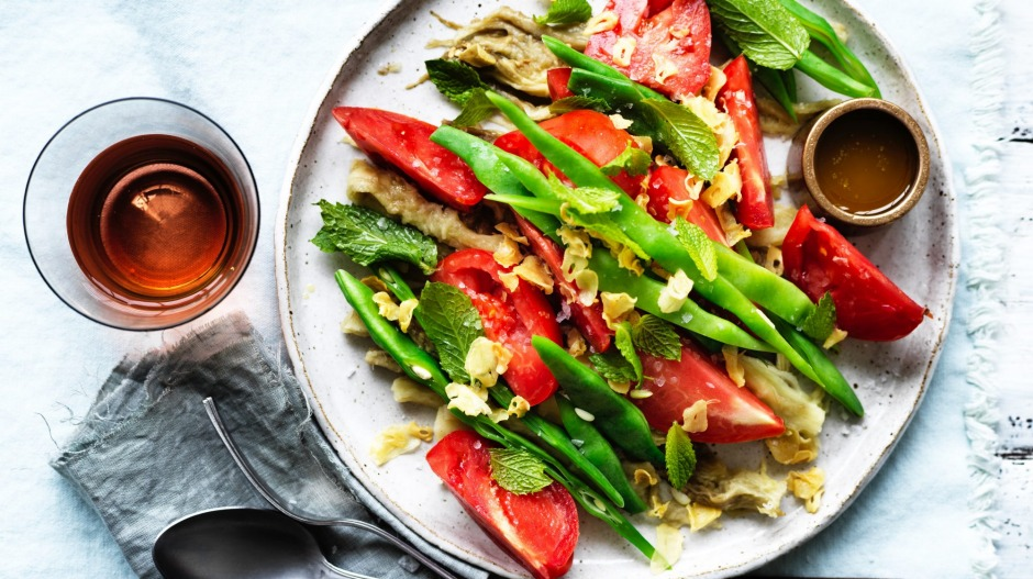 Moroccan-inspired summer salad.
