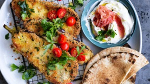An Israeli-inspired vegetarian dish that has it all.