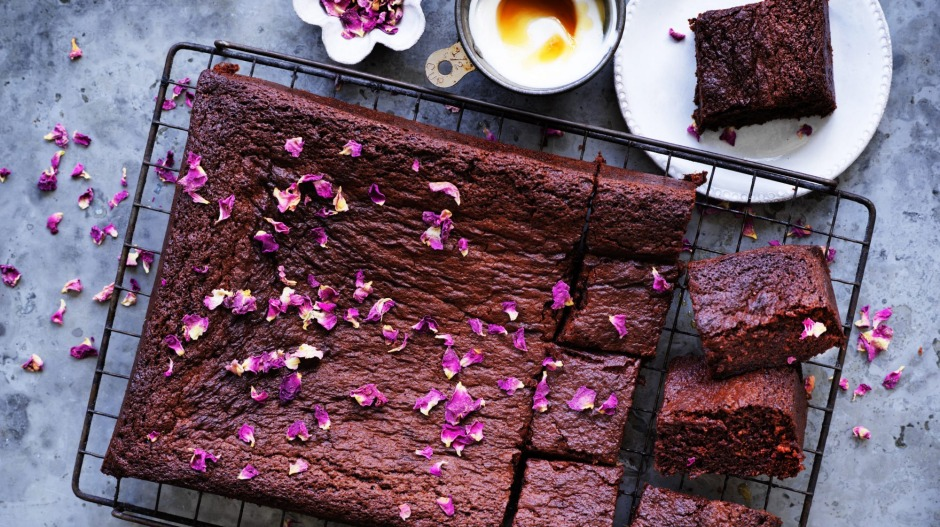 Make a date with these super-chocolatey, tahini-rich brownies.