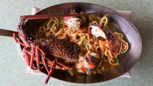 Go-to dish: House-made tagliolini with lobster.
