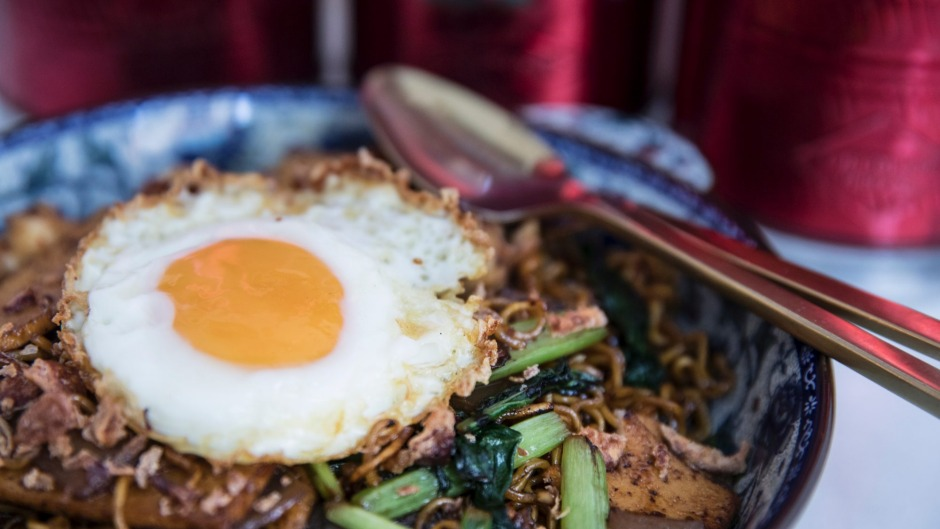 The indomie goreng at Cafe Ho Jiak.