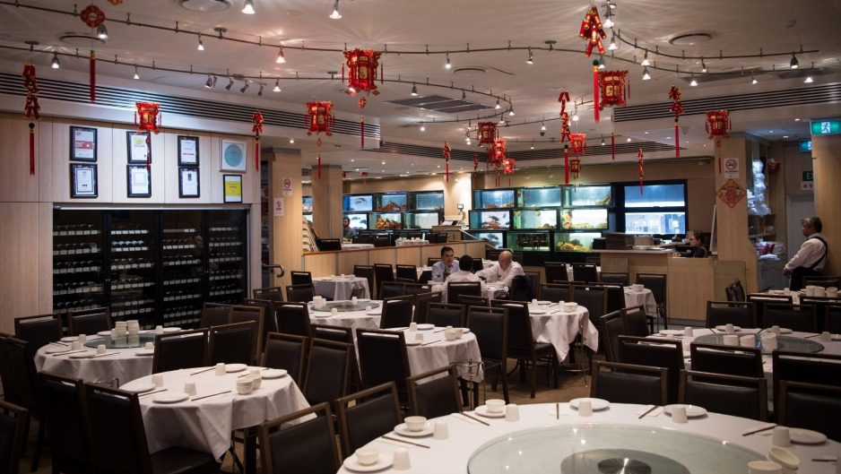 Veteran star: Golden Century's decor is spill-proof.