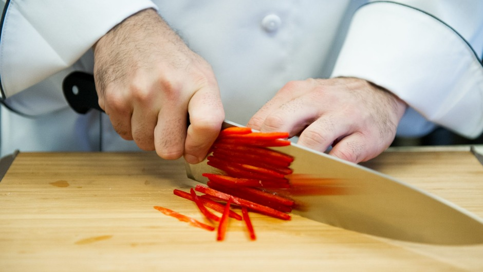 Blade runners: The Institute of Culinary Education in New York offers classes on how to use a knife.