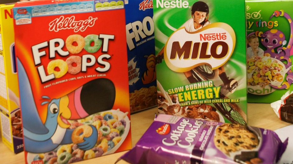A high intake of ultra-processed foods such as cereal have been linked to cancer.