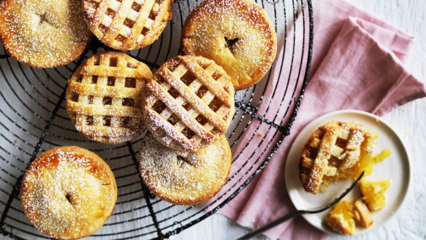 Helen Goh's Lunar New Year tarts with pineapple and lime.
