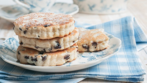 Stories go hand in hand with food, like Welsh cakes.